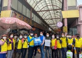 2021년 선배시민 자원봉사단 비원사진